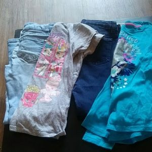 Grab bag.....two little girl outfits for the price